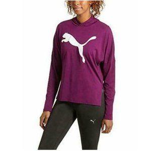 Puma Womens Urban Light Hooded Tee-Shirt